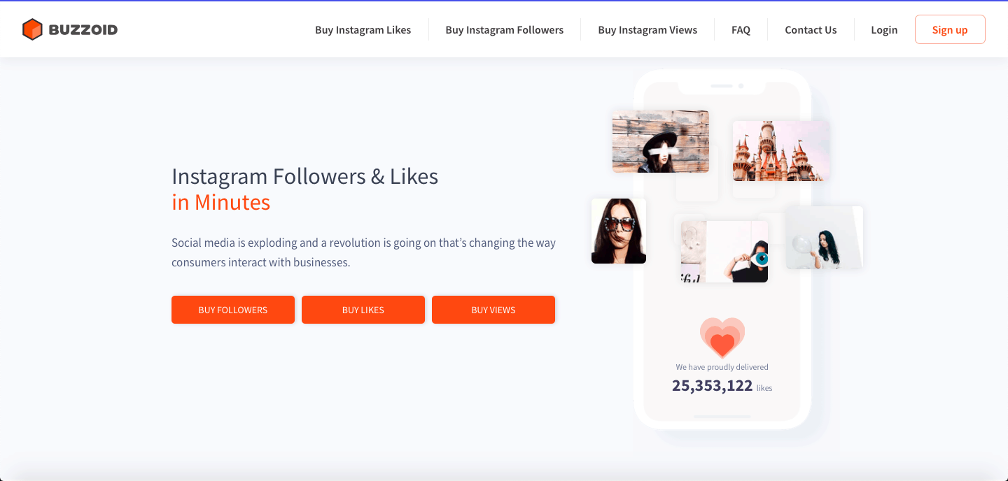 buy instagram followers and likes for cheap instagram followers uk best people to follow instagram Buzzoid Review 2020 Proof It S A Scam