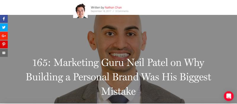 Neil Patel Podcast Marketing