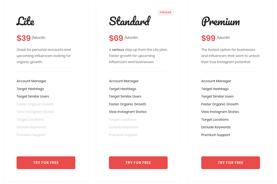 Upleap Pricing