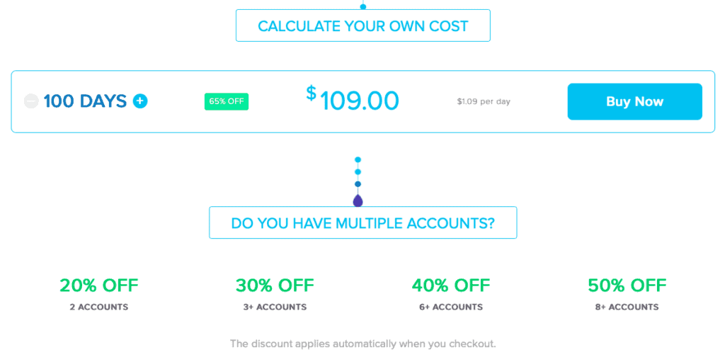 InstaMacro Pricing