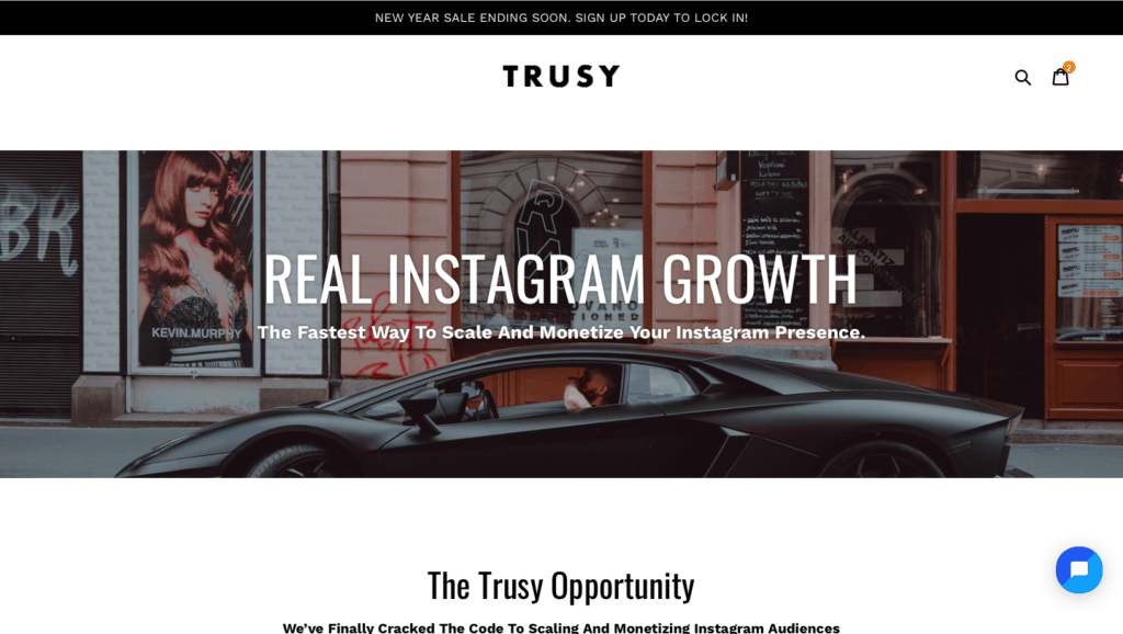 Trusy Social Instagram Growth Service