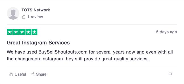 BuySellShoutouts Reviews