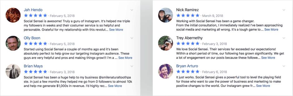 Social Sensei Reviews