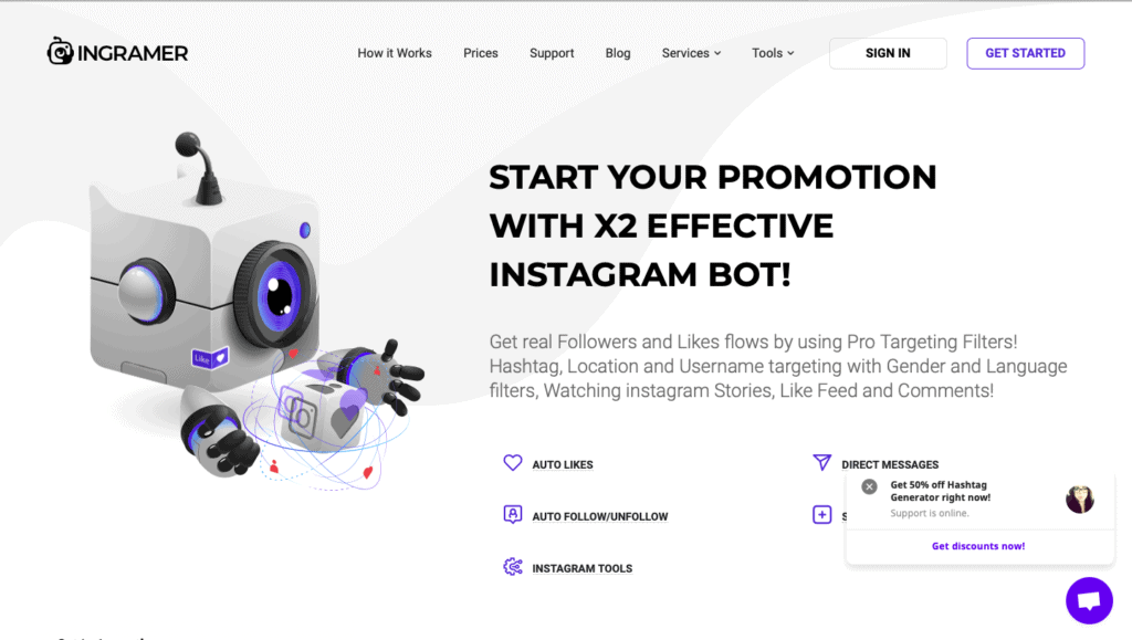 Ingramer Instagram Growth Service