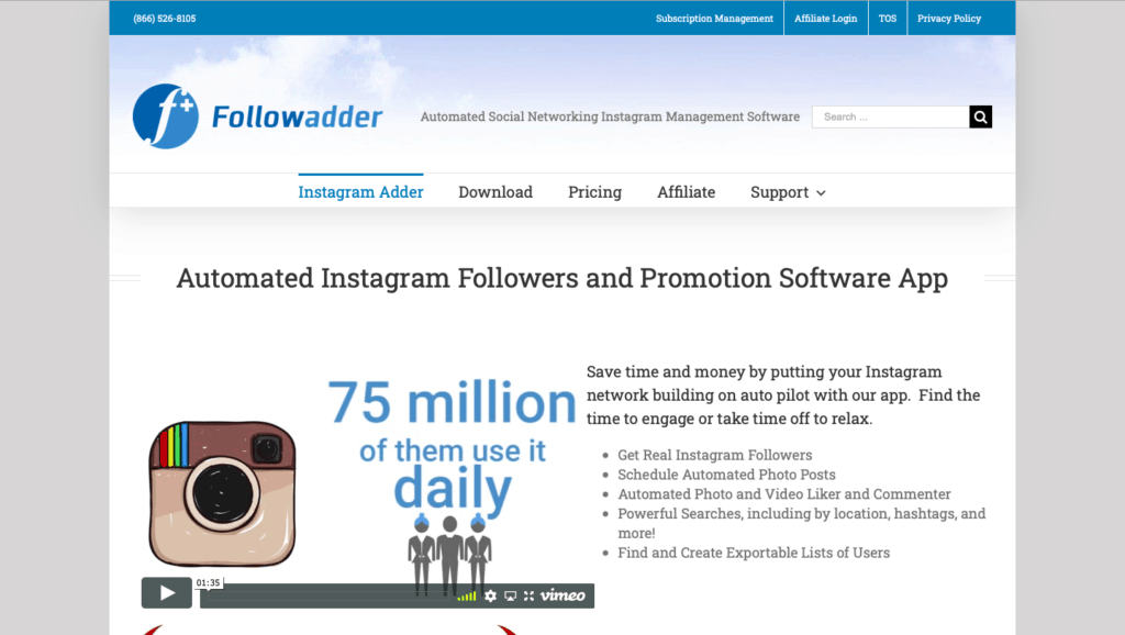 Followadder Instagram Growth Service