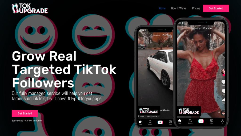 TokUpgrade TikTok Bot