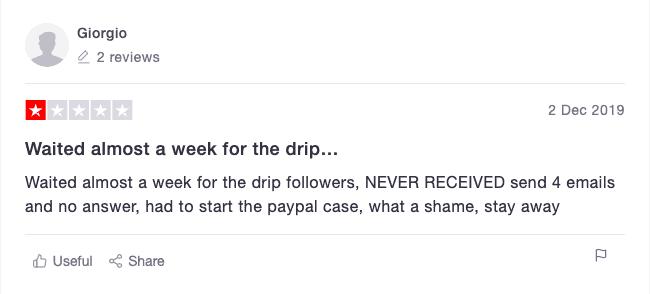 DripFollowers Review 1