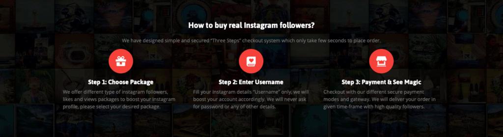 InstaBoostGram Get Started