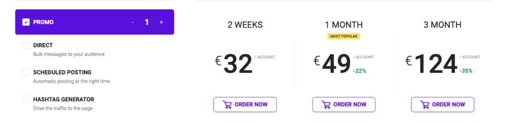 Ingramer Promo Pricing