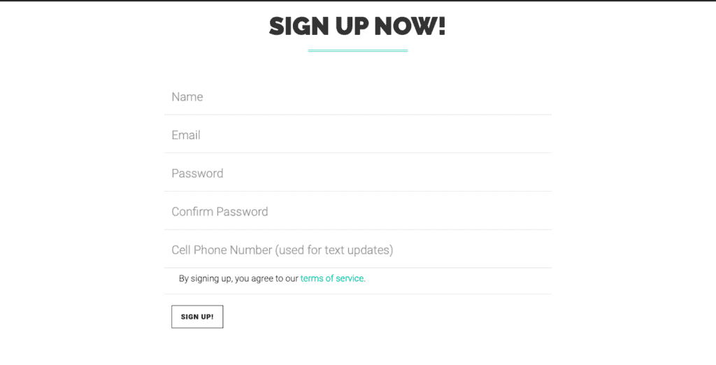 PopSocial Sign Up
