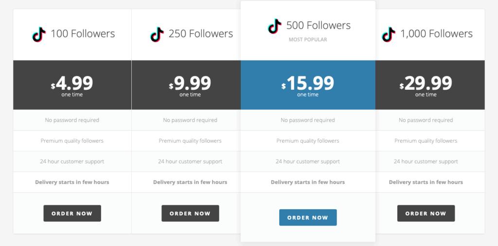 BuySocialMediaMarketing TikTok Followers