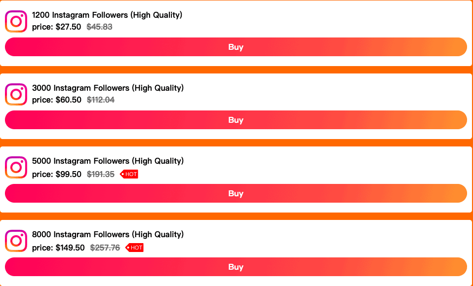 Popular Up Instagram Followers