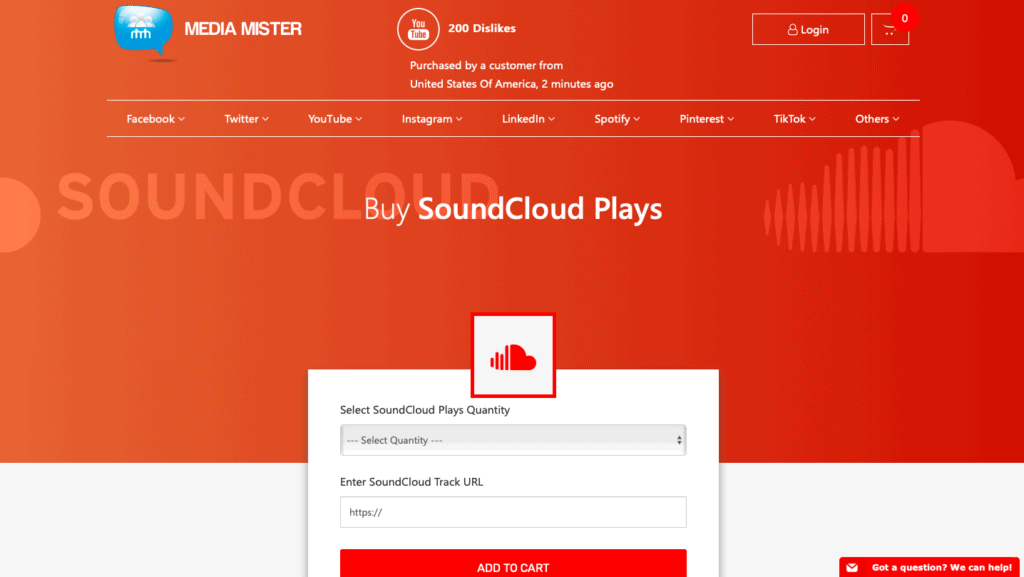 Media Mister Buy SoundCloud Plays