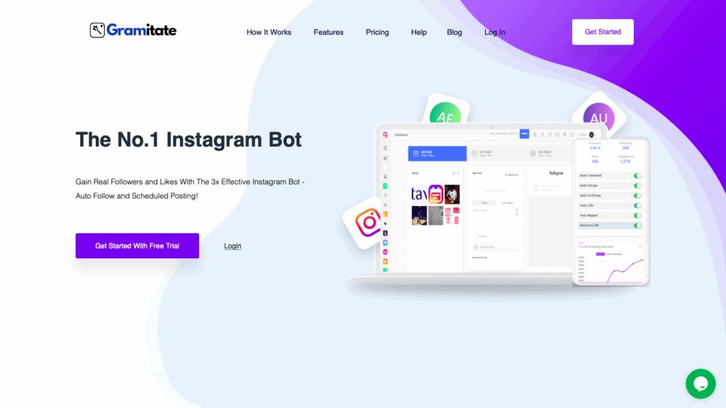Gramitate Instagram Bot