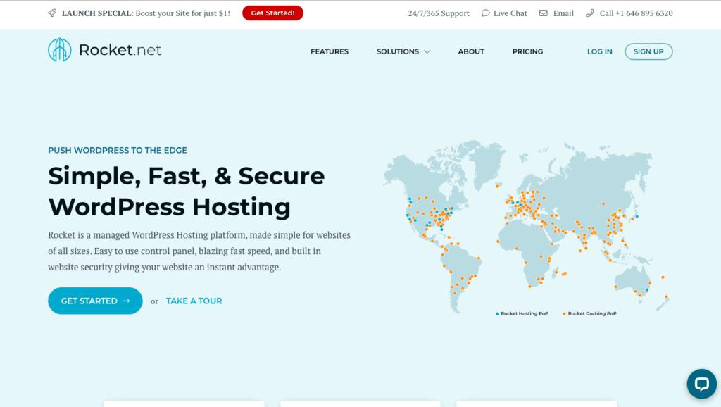 Rocket.net Hosting Review