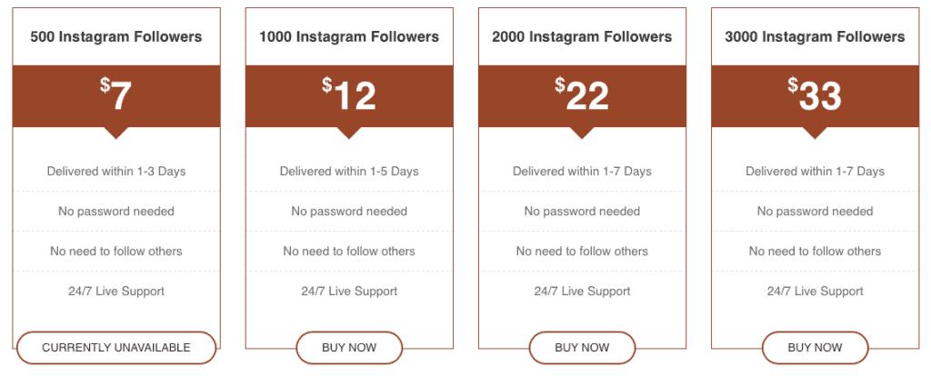 Famups Buy Instagram Followers