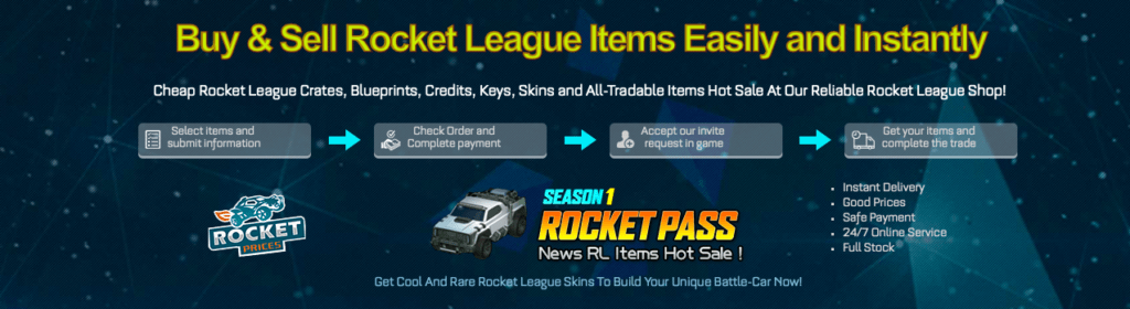 RocketPrices Features