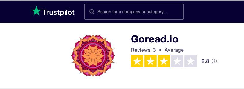 GoRead.io Trustpilot