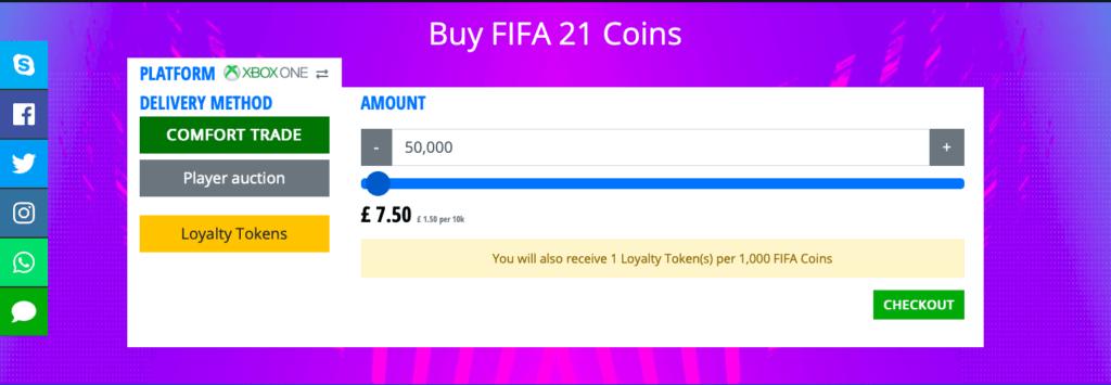 UTStore Buy FIFA Coins