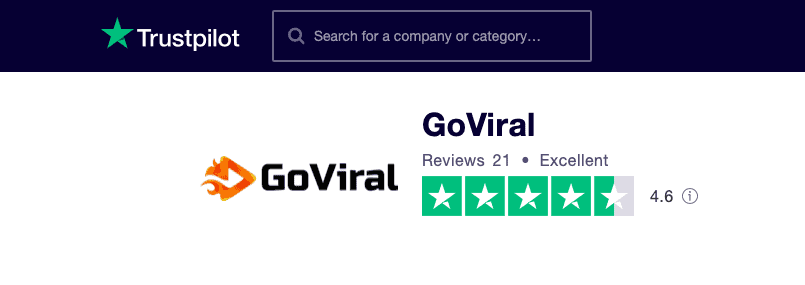 GoViral.ai Trustpilot