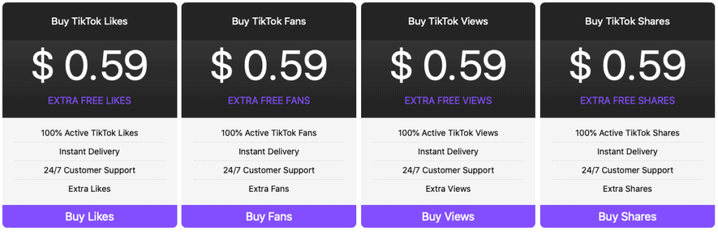 TikTokLove Features