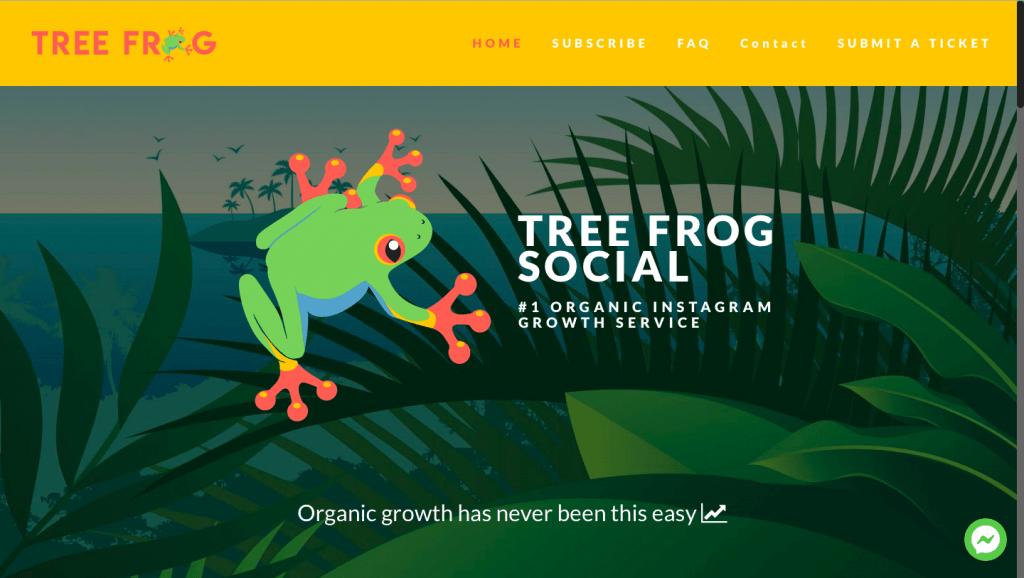 Tree Frog Social