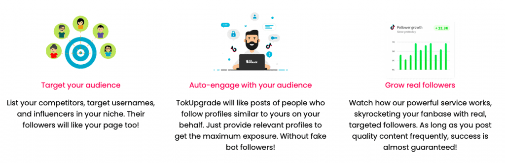 TokUpgrade Features